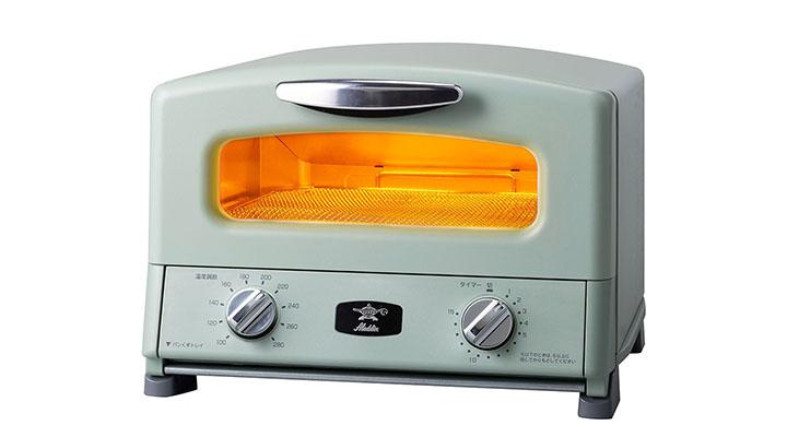 グラファイトグリル&トースター(4枚焼き)AGT-G13A