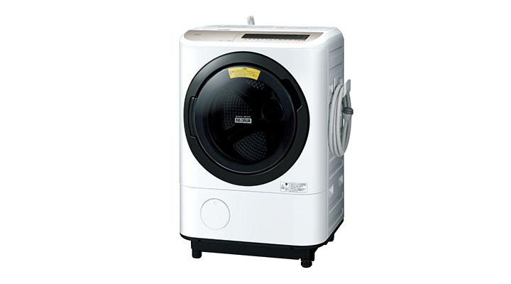 ドラム式洗濯乾燥機ヒートリサイクル 風アイロン ビッグドラムBD-NV120E