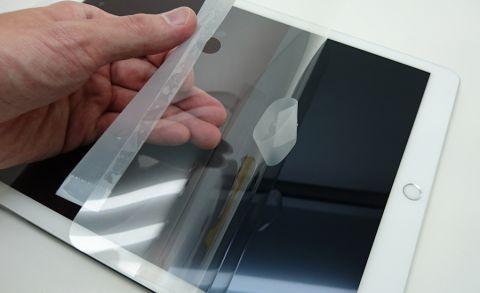 iPad Proに貼るのは保護フィルム? それとも保護ガラス?