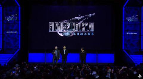 FINAL FANTASY VIIリメイク PS4版「FINAL FANTASY VIIリメイク