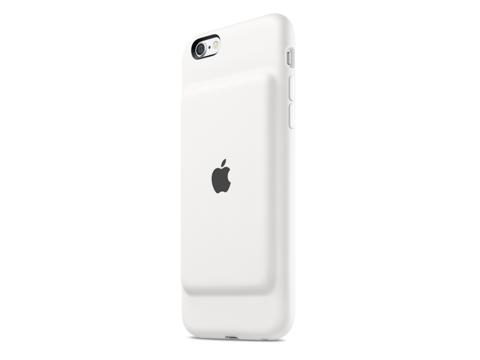 "iPhone用純正バッテリーケースの""不都合な膨らみ"""