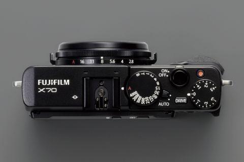 富士フイルムX70