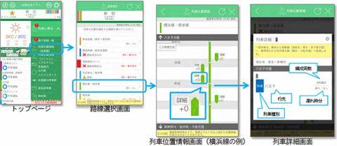 JR東日本アプリ、バージョンアップ
