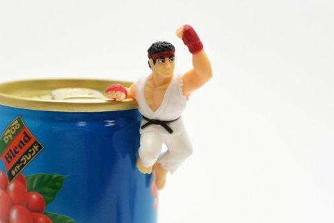 コーヒーを飲んで昇龍拳