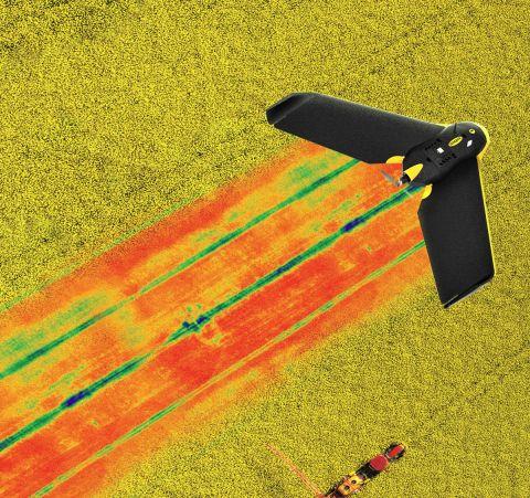 パロット、農業ドローン用センサー