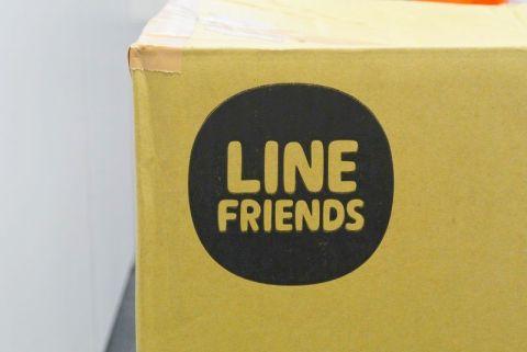 LINEのブラウン