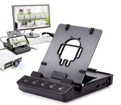加賀ハイテック、Android Dock