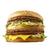 肉4枚横綱満足バーガー「ギガ ビッグマック」 通常の2.8倍