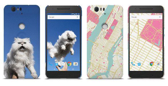 818601f89f 「My Live Case」。Google Storeでの注文時に好みの画像をアップロードして印刷できる