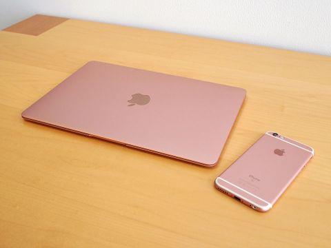 ローズゴールドの新MacBookはピンクじゃないから恥ずかしくない