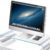 iMacを載せて使いたい、USB3.0ハブ付き強化ガラス製スタンド