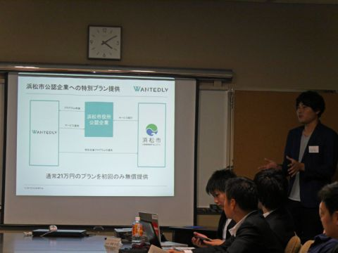 Hamamatsu Government Pitch