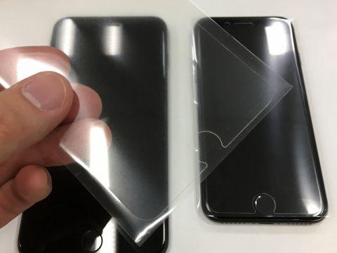 iPhone 7/7Plusの保護フィルム、6s用は使えるの?