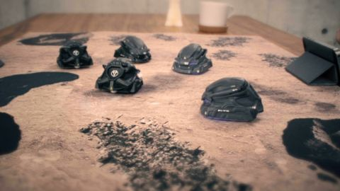 AI搭載の自律型ロボットを操る戦略ボードゲーム「CODE HORIZON」