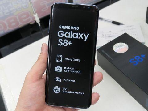 「Galaxy S8+」