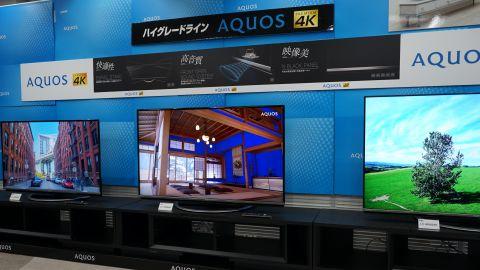 4Kテレビ「AQUOS US45」シリーズ登場