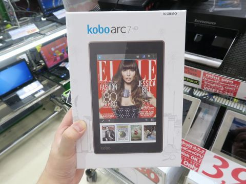 「Kobo Arc 7HD」