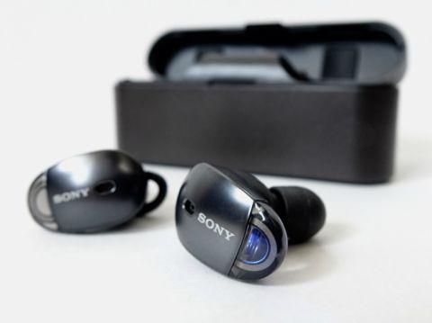 ソニーの完全ワイヤレスイヤフォンはAirPodsに対抗できる完成度