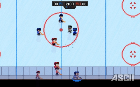 「Super Blood Hockey」:Steam
