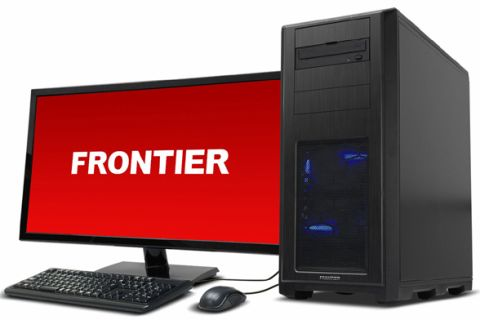 FRONTIER、i7-8700Kマシン