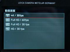 4K動画の撮影も可能