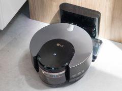 ロボット掃除機もLG ThinQに対応しており、ほかの機器からのコントロールも可能