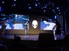ゲームは「Sprint Vector」で、MCによる解説もあり会場は大いに盛り上がった