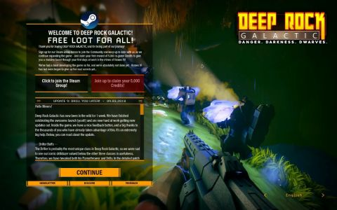 「Deep Rock Galactic」:Steam