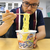 スーパーカップのバニラ味を食べる あっ、カップ麺の話です