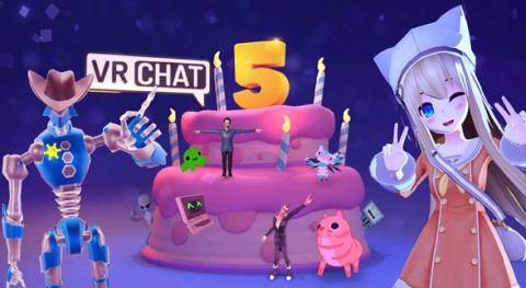 VRCHAR 5周年記念パーティー