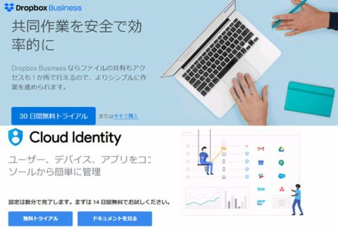 Dropbox Business Google Cloud ID