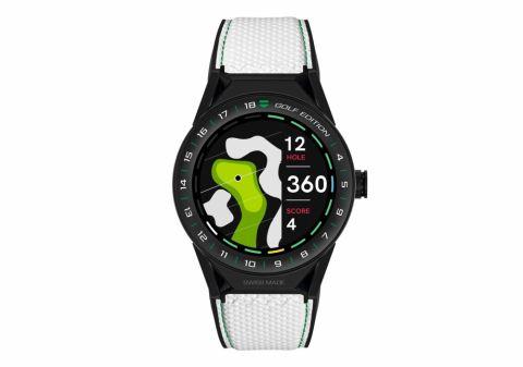 competitive price a8ff6 297ce タグ・ホイヤーがゴルフファン向けにスマートウォッチを発売 ...