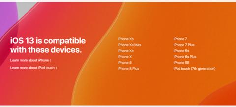 72f51b6ab1 アップルが6月3日に発表したiOS 13でも、iPhone SEがサポートされることがわかった。アップルのiOS 13プレビューページから確認できる。
