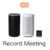 AIが会議記録する「Record Meeting」にリアルタイム翻訳機能が追加