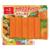 みかん風味のカニかま登場 もちろんオレンジ色