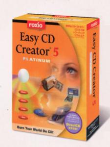 『Easy CD Creator 5 Platinum』の製品パッケージ