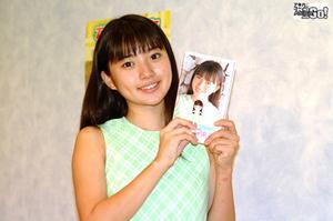 ASCII.jp:スーパージュニアアイドル・石田未来、イベントでミニ ...