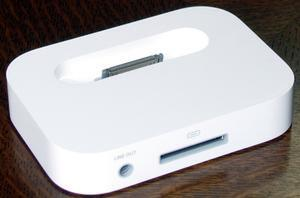 「iPod mini Dock」背面