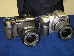 E-300とEOS Kiss Digitalの比較