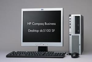 """HP Compaq Business Desktop dc5100 SF"""