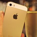 ゴールドの「iPhone 5s」でスローモーション猫動画