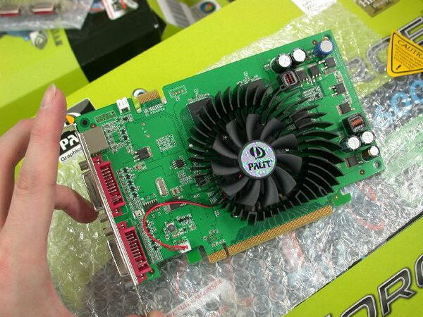 Palit「GeForce 8600GT」
