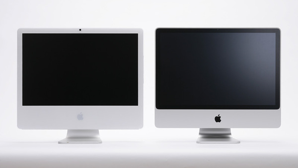 New and Old iMac