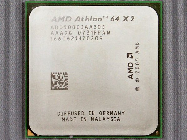 「Athlon 64 X2 5000+ Black Edition」表