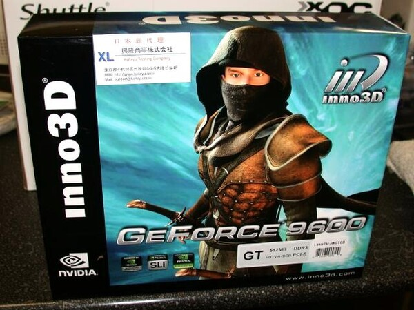 「Inno3D GeForce 9600GT Armour 512MB DDR3 PCI-E」
