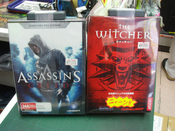 Asassin's CreedとThe Witcher