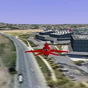 Google Earth APIでブラウザがフライトシミュレータに!