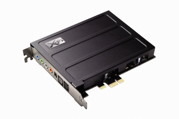 PCI Express Sound Blaster X-Fi Titanium Professional Audio
