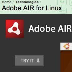Adobe AIR、Linuxでも日本語完全サポートへ