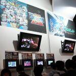 バンダイナムコゲームスブースでは、プレイアブルタイトルが多数!